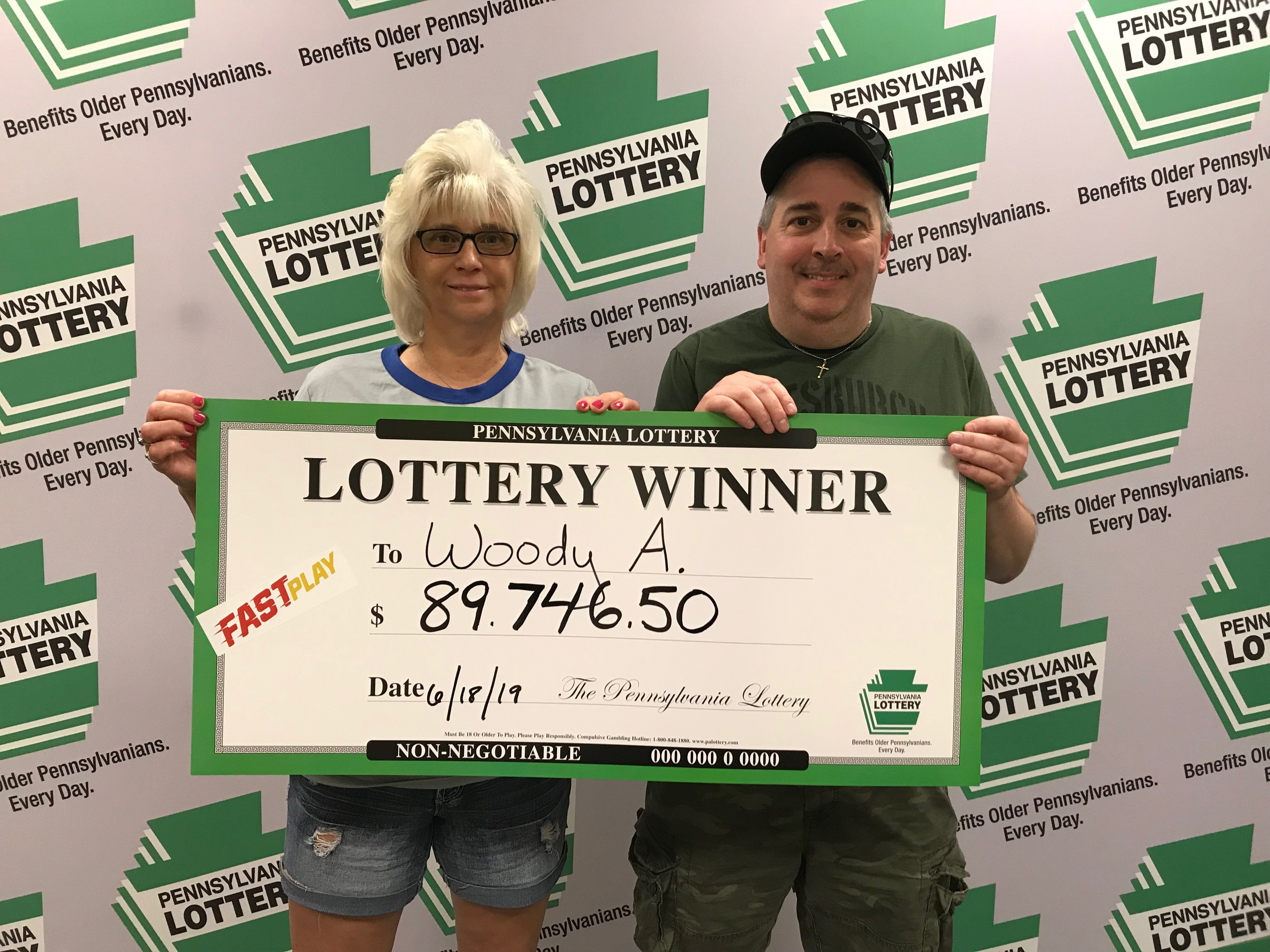 Lancaster County Man Wins More Than $89,000 on PA Lottery